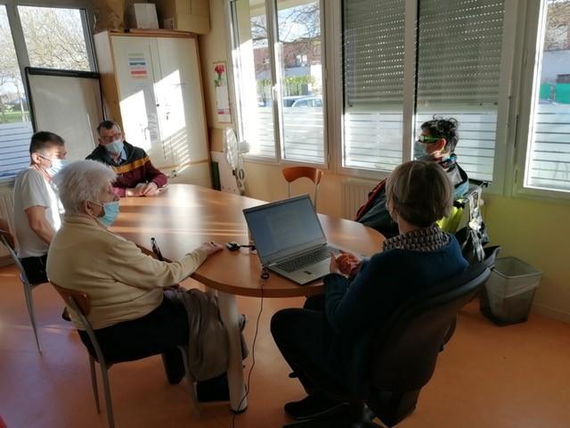 Des réunions avec les résidents des Haubans pour ajuster leur accompagnement